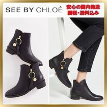 ◇See by Chloe◇Louise Flat Signature Boots 【関税送料込】