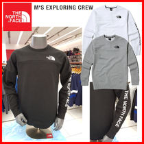 THE NORTH FACE☆18-19AW M'S EXPLORING CREW_NM5MJ50