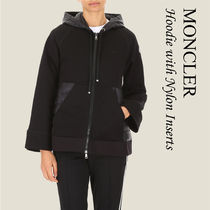 MONCLER Hoodie with Nylon Inserts