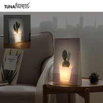 TUNAPAPER★PAGE BY PAGE LAMP - GARDENING ページめくりLED照明