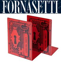 *FORNASETTI*アート好き愛用品 LOCK key Book Stand RED