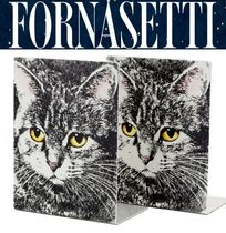 *FORNASETTI*新作 CATプリント Book Stand 国内発送