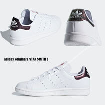 adidas★STAN SMITH J★大人も履ける!★パイソン★TRACE MAROON