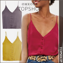 【国内発送・関税込】TOPSHOP★Satin Button Through Cami Top
