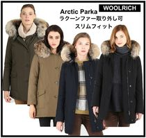 """WOOLRICH """"ARCTIC PARKA""""ラクーンファー着脱可&ボタンダウン"""