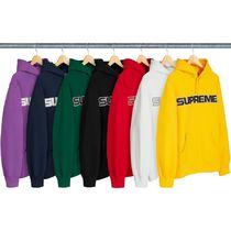 【在庫あり】Supreme Perforated Leather Hooded Sweatshirt