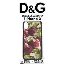 ☆Dolce & Gabbana☆ Printed textured-leather iPhone X ケース