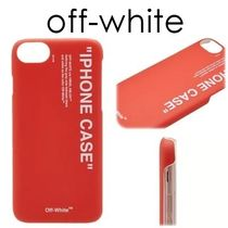 NEW Off-White Quote iPhone 8ケース