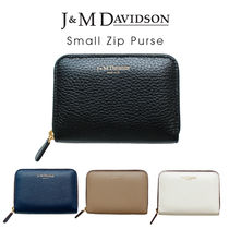J&M Davidson Small Zip Purse〔5259/7266〕スモールジップ パス
