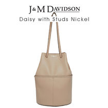 J&M Davidson Daisy with Studs Nickel〔1447N/7314〕