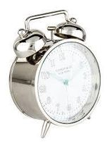 Nickel TwinBell Alam Clock