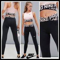 ジムウエア★Nike Pro Training  Leggings In Black And Pink