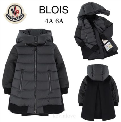 MONCLER キッズアウター 18/19秋冬 モンクレールキッズ BLOIS 新色チャコール 4A/6A