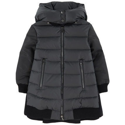 MONCLER キッズアウター 18/19秋冬 モンクレールキッズ BLOIS 新色チャコール 4A/6A(2)
