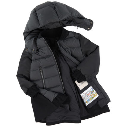 MONCLER キッズアウター 18/19秋冬 モンクレールキッズ BLOIS 新色チャコール 4A/6A(3)