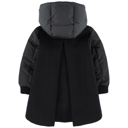 MONCLER キッズアウター 18/19秋冬 モンクレールキッズ BLOIS 新色チャコール 4A/6A(4)