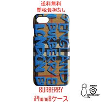 【Burberry】グラフィティ iPhone8 ケース【送料・関税込み】