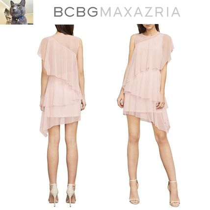 【BCBGMAXAZRIA】Madison Asymmetrical ドレス