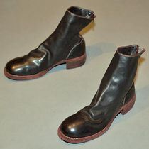 GUIDI(グイディ ) ブーツ GUIDI 796Z HORSE LEATHER BACK-ZIP BOOTS BROWN