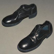 GUIDI(グイディ ) ドレスシューズ・革靴・ビジネスシューズ GUIDI 792Z HORSE LEATHER LACE-UP SHOES BLUISH BLACK