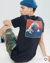 Quik Silver(クイックシルバー) Tシャツ・カットソー Quiksilver The Original Mountain & Wave T-Shirt in Black