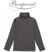 18AW【Bonpoint】コットンタートルネック 4~12A (gris fonce)