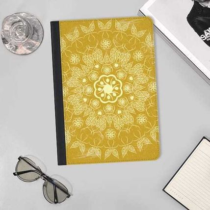 Casetify iPad・タブレットケース ★Casetify★iPadケース*GOLDEN FLORAL MANDALA ON MARBLE(2)