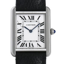 Cartier(カルティエ) Tank Solo Silvered Opaline Dial Unisex