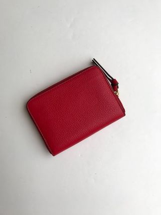 Tory Burch カードケース・名刺入れ 即発 TORY BURCH★BOMBE ZIP COIN CASE キーリング付き(4)