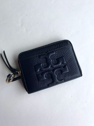 Tory Burch カードケース・名刺入れ 即発 TORY BURCH★BOMBE ZIP COIN CASE キーリング付き(8)