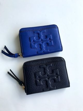 Tory Burch カードケース・名刺入れ 即発 TORY BURCH★BOMBE ZIP COIN CASE キーリング付き(13)