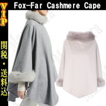 ◆◆VIP◆◆ MaxMara  Fox-Far Cashmere Cape / 送税込