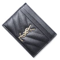 SAINT LAURENT PARIS カードケース 423291-bow01-1000