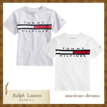 SALE Tommy Hilfiger 大人もOK! ロゴTシャツ グレー