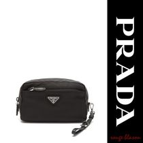 【国内発送】PRADA Zip-around cosmetics case