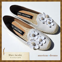 SALE 即発送! marc jacobs  お花モチーフ エスパドリーユ WHITE