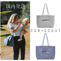 CUB+SCOUT(カブアンドスカウト) トートバッグ 国内発送/ CUB+SCOUT/ THE LEADERネオプレンマザーズバッグ 新色