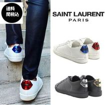 ★Saint Laurent★※VIP SALE※LEATHER CLASSIC SNEAKERS