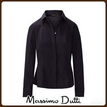 MassimoDutti♪STRETCH FIT SOLID SHIRT WITH SEAM DETAIL