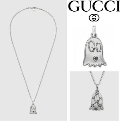 GUCCI ネックレス・チョーカー 【GUCCI】安心追跡★ゴーストネックレスGucciGhost necklace