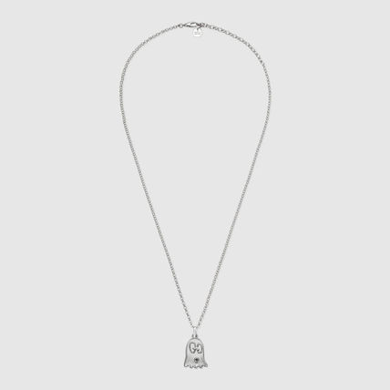 GUCCI ネックレス・チョーカー 【GUCCI】安心追跡★ゴーストネックレスGucciGhost necklace(2)
