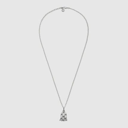 GUCCI ネックレス・チョーカー 【GUCCI】安心追跡★ゴーストネックレスGucciGhost necklace(3)