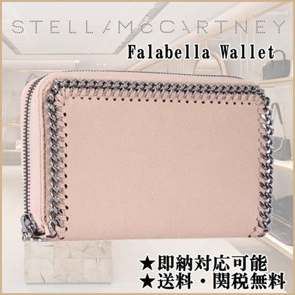 【即納・限定SALE】Stella McCartney ファラベラ 長財布 Powder