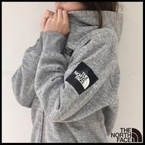 国内発送★THE NORTH FACE MEN'S SQUARE LOGO HOODIE★MIX GREY