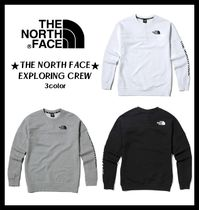 THE NORTH FACE(ザノースフェイス) スウェット・トレーナー ★関税込★THE NORTH FACE★18-19AW M'S EXPLORING CREW 3色