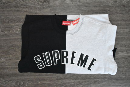 Supreme スウェット・トレーナー 【AW18】Supreme(シュプリーム)SPLIT CREWNECK SWEATSHIRT/BLACK(2)