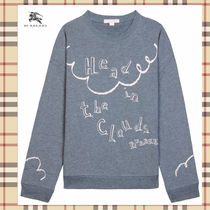 """☆Burberry☆ """"Head in the Clouds"""" ガールズスウェット♪ 14A"""
