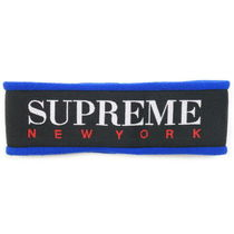 Supreme FW16 Fleece Headband (Supremeステッカー付き)