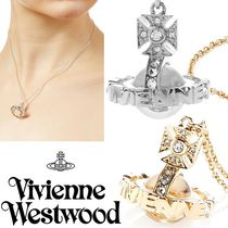 ◆VivienneWestwood◆ロゴx3Dオーブ♪Paisley Orb ネックレス S