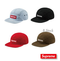 [18 A/W] 国内発送 Supreme Washed Chino Twill Camp Cap